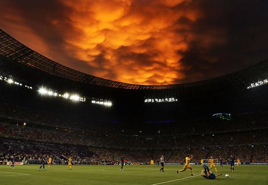 Матч украина — франция под небом