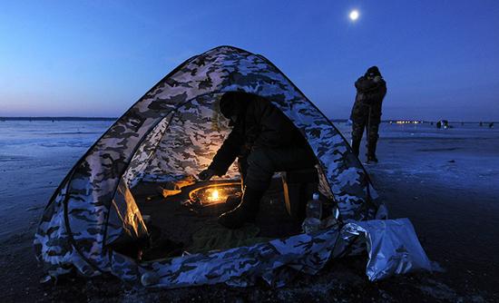 рыбалка снасти палатки